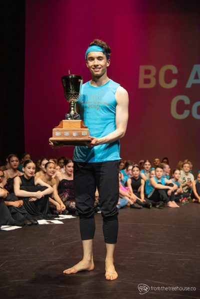 Julian Hunt BCADC Performer of the Year